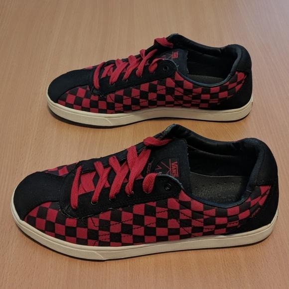 Vans Rowley Slims Checkerboard Shoes